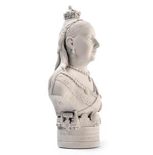 Queen Victoria Statuette - Famous Faces Collection Plaster Bust Thumbnail 2