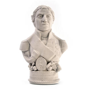 Horatio Nelson Statuette - Famous Faces Collection Plaster Bust