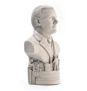 Padraig Pearse Statuette - Famous Faces Collection Plaster Bust Thumbnail 2