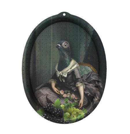Isild - Galerie De Portraits - Surreal Wall Tray Art Masterwork by iBride