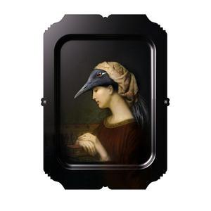 Alma - Galerie De Portraits - Surreal Wall Tray Art Masterwork by iBride Thumbnail 1