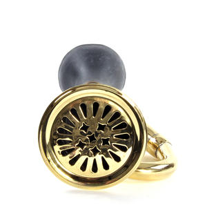 Brass Taxi Horn - Very Loud 'Barp Barp' Car Horn Thumbnail 2