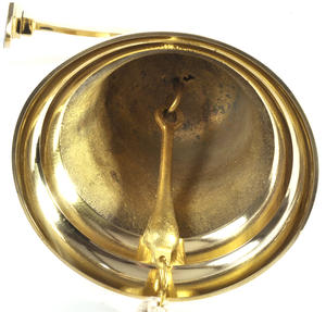 "Brass Ship's Bell and Lanyard 6"" Thumbnail 3"