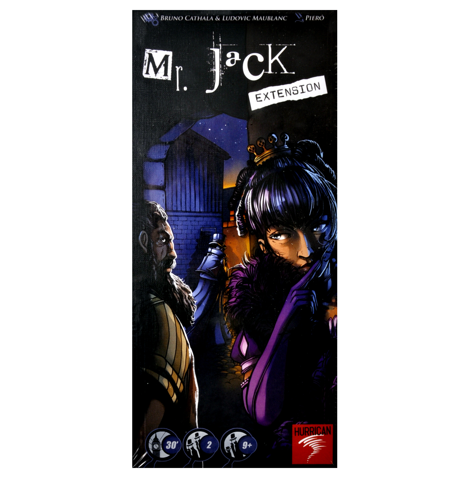 Mr  Jack - Extension- Jack the Ripper Board Game