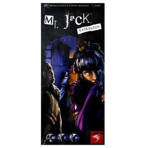 Mr. Jack - Extension-  Jack the Ripper Board Game Thumbnail 1