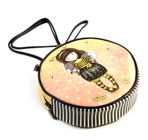 Bee-Loved (Just Bee-Cause) - Round Shoulder Bag by Gorjuss Thumbnail 3