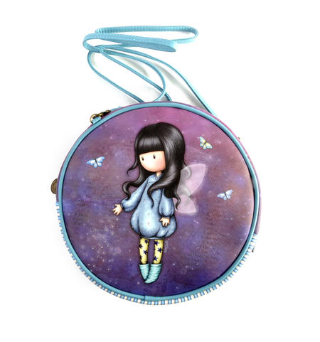 Bubble Fairy - Round Shoulder Bag by Gorjuss