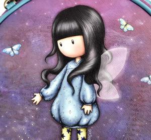 Bubble Fairy - Round Shoulder Bag by Gorjuss Thumbnail 2