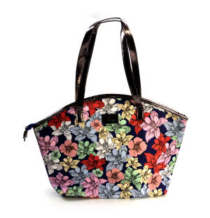 Midnight Garden - Curved Shopper Bag By Mirabelle Thumbnail 3