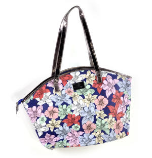 Midnight Garden - Curved Shopper Bag By Mirabelle Thumbnail 6