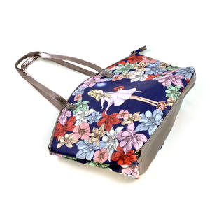 Midnight Garden - Curved Shopper Bag By Mirabelle Thumbnail 8