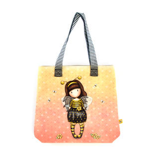 Bee-Loved (Just Bee-Cause) - Shopper Bag By Gorjuss Thumbnail 1