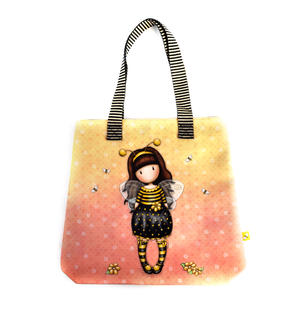 Bee-Loved (Just Bee-Cause) - Shopper Bag By Gorjuss Thumbnail 3