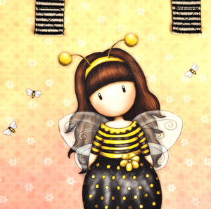 Bee-Loved (Just Bee-Cause) - Shopper Bag By Gorjuss Thumbnail 4