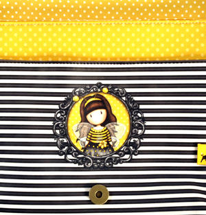 Bee-Loved (Just Bee-Cause) - Cross Body Bag By Gorjuss Thumbnail 4