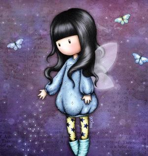 Bubble Fairy - Cross Body Bag By Gorjuss Thumbnail 2