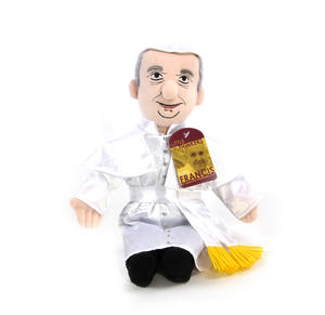 Pope Francis Soft Toy - Little Thinkers Doll Thumbnail 1