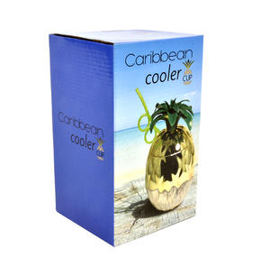 Caribbean Cooler - Pineapple Cocktail Cup Thumbnail 2