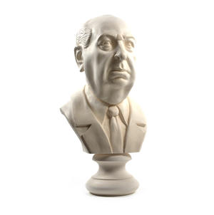 Sir Alfred Hitchcock - Life-size 25kg Plaster Bust Statue Thumbnail 5
