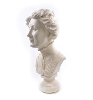 Emmeline Pankhurst - Life-size 20kg Plaster Bust Statue Thumbnail 2