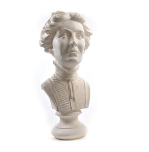 Emmeline Pankhurst - Life-size 20kg Plaster Bust Statue Thumbnail 6