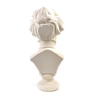 Emmeline Pankhurst - Life-size 20kg Plaster Bust Statue Thumbnail 7
