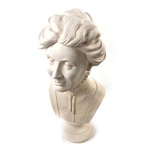 Emmeline Pankhurst - Life-size 20kg Plaster Bust Statue Thumbnail 8