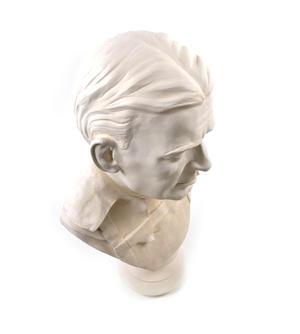 Sir Ernest Shackleton - Life-size 25kg Plaster Bust Statue Thumbnail 3
