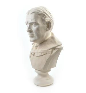Sir Ernest Shackleton - Life-size 25kg Plaster Bust Statue