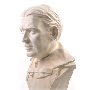 Sir Ernest Shackleton - Life-size 25kg Plaster Bust Statue Thumbnail 5