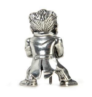 Mini Joker Bronze Age Batman Sculpture by Royal Selangor Thumbnail 4