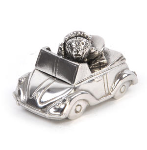 Girl Teddy Convertible Car Keepsake Box - Teddy Bears Picnic by Royal Selangor 016515R