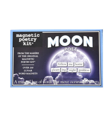 Moon Fridge Magnet Poetry Set - Moon Fridge Poetry
