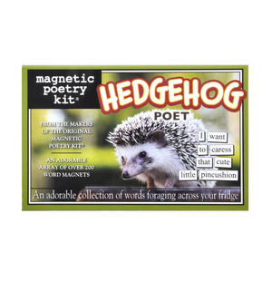 Hedgehog Fridge Magnet Poetry Set - Hedgehog Fridge Poetry