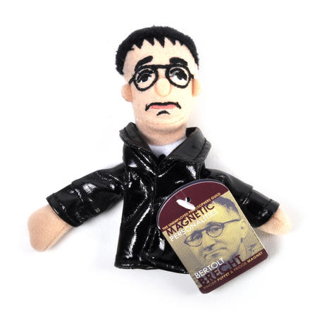Bertolt Brecht Finger Puppet and Refrigerator Magnet