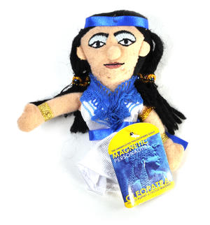 Cleopatra Finger Puppet and Refrigerator Magnet