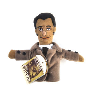 James Baldwin Finger Puppet and Refrigerator Magnet