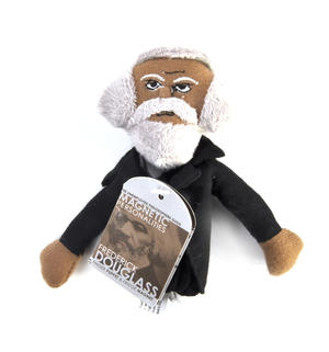 Frederick Douglass Finger Puppet and Refrigerator Magnet