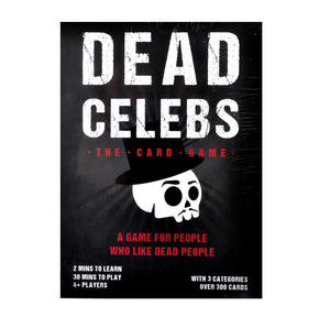 Dead Celebs Card Game Thumbnail 1