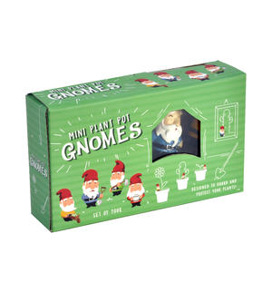 Mini Plant Pot Gnomes - Set of Four Thumbnail 3