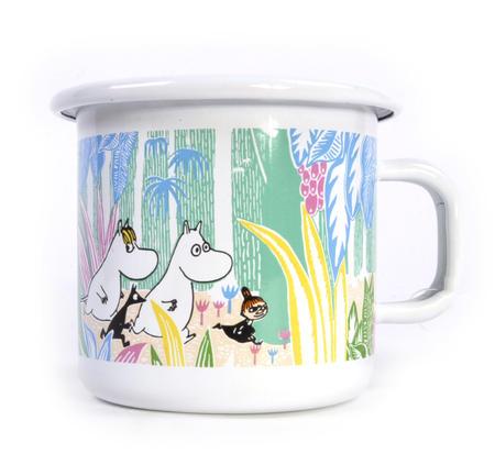 Moomins in the Jungle - Moomin Muurla Enamel Mug - 250 ml