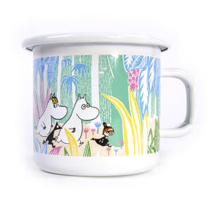 Moomins in the Jungle - Moomin Muurla Enamel Mug - 250 ml Thumbnail 1