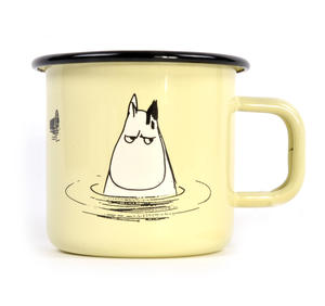 Moomin in the Water - Makia X - Moomin Muurla Enamel Mug - 370 ml Thumbnail 1