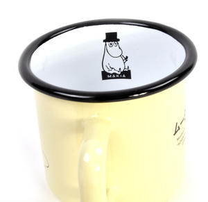 Moomin in the Water - Makia X - Moomin Muurla Enamel Mug - 370 ml Thumbnail 3