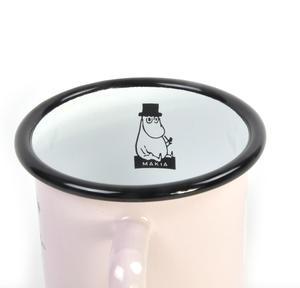 Moominpapa Drinking - Makia X - Moomin Muurla Enamel Mug - 370 ml Thumbnail 2