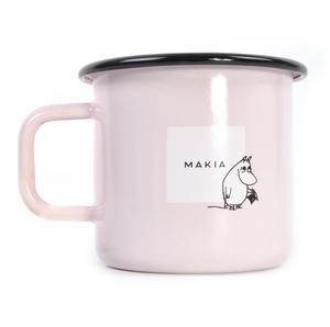 Moominpapa Drinking - Makia X - Moomin Muurla Enamel Mug - 370 ml Thumbnail 3