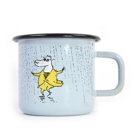 Make it Rain - Makia X - Moomin Muurla Enamel Mug - 370 ml
