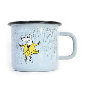 Make it Rain - Makia X - Moomin Muurla Enamel Mug - 370 ml Thumbnail 1