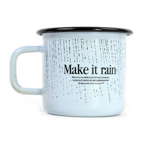 Make it Rain - Makia X - Moomin Muurla Enamel Mug - 370 ml Thumbnail 2
