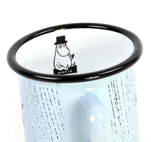 Make it Rain - Makia X - Moomin Muurla Enamel Mug - 370 ml Thumbnail 3